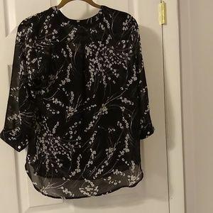Apt. 9 Tops - Apt. 9 Black blouse size M